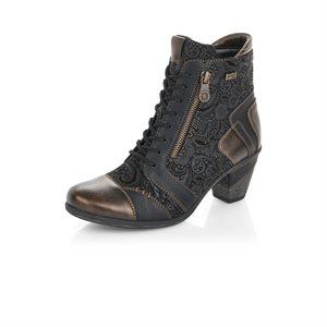 Black High Heel Bootie D8794-02