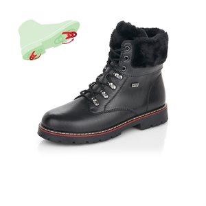 Black Waterproof Winter Boot D9372-01