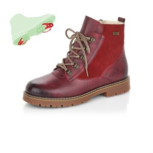 Red Waterproof Winter Boot D9373-35