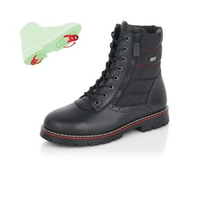 Black Waterproof Winter Boot D9374-01