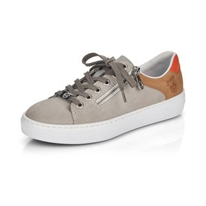 Grey Laced Shoe L59A1-40