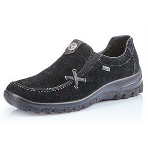 Black Membran Loafer L7154-00