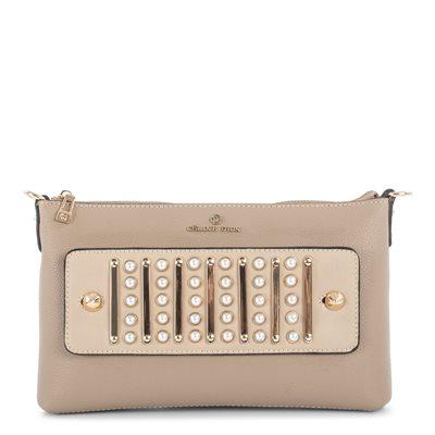 de84bff09d35 Maestro Sand Clutch Handbag