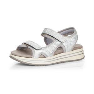 Sandale à plateforme Blanc R2957-40