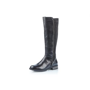 Black Wide Boot R3325-01