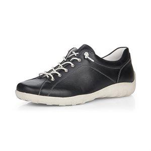 Black Laced Shoe R3515-01