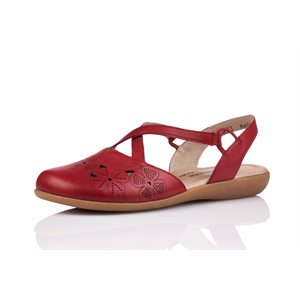 Red Closed Sandal R3802-33