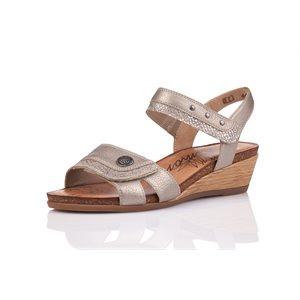 Sandale à Talon Dorée R4450-90