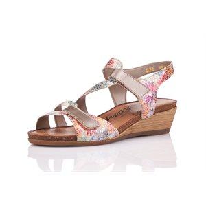 Sandal Heel Multi Color R4454-91