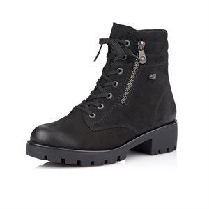 Black Winter Bootie R5370-02