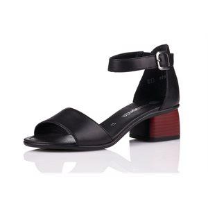 Black Closed Sandal R8750-01