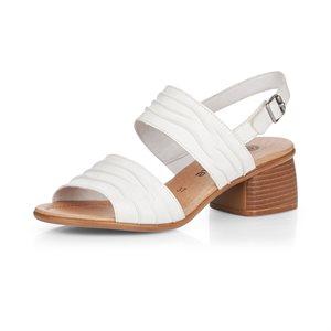 Sandale à talon haut Blanc R8762-80