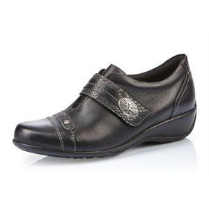 Black Velcro Shoes R9813-01