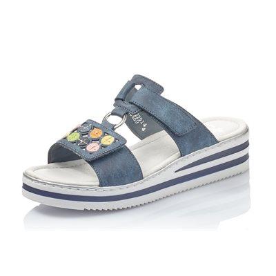 Blue Slipper Sandal V0229-14