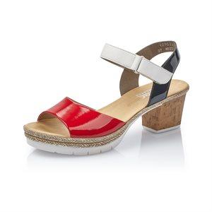 Sandale à Talon Rouge Vernis V2953-33