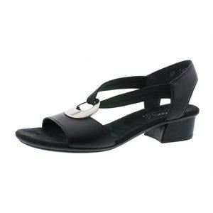Black Multi Sandal V6263-00