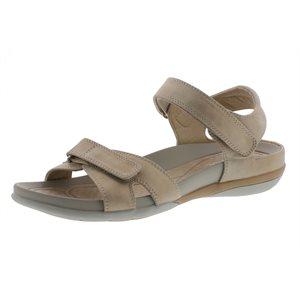 Beige Velcro Sandal V9462-62