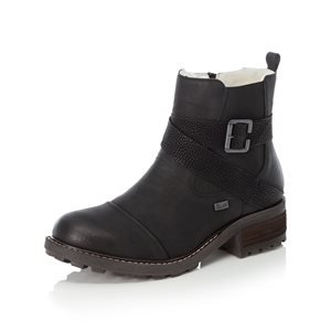 Black Waterproof Winter Boot Y0470-00