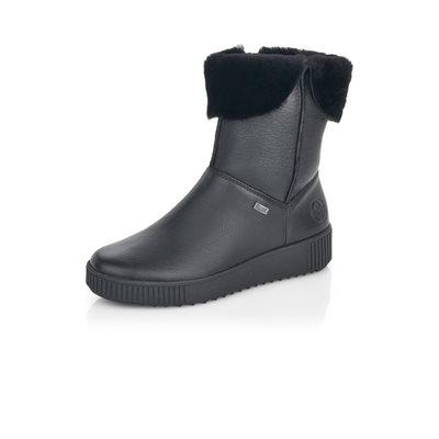 Black Waterproof Winter Boot Y6484-00
