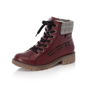 Red Waterproof Winter Boot Y9141-35