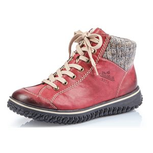 Burgundy Water-resistant Winter Boot Z4243-35