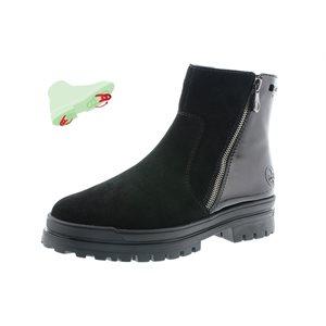 Black Waterproof Winter Boot with pivoting grip Z5451-00