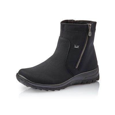 Black Waterproof Winter Boot Z7161-00