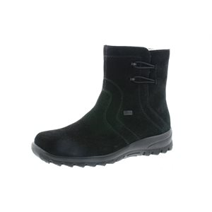 Black Waterproof Winter Boot