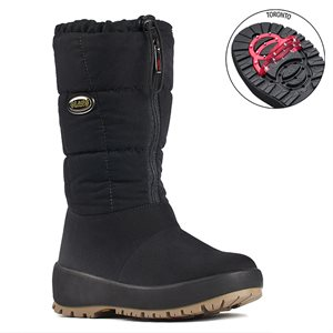 Black boot with pivoting grip Ziller
