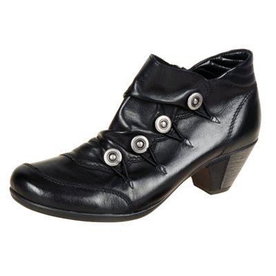 Black Heel Boothies D1273-01