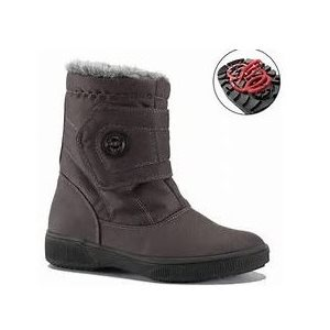 Grey boot with pivoting grip Vermont